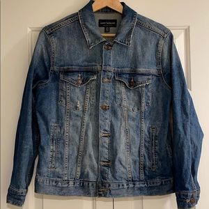 Lucky Brand Jean jacket Large (used in good cond)